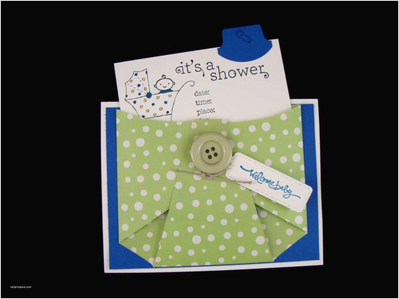 baby shower invitation diaper card set