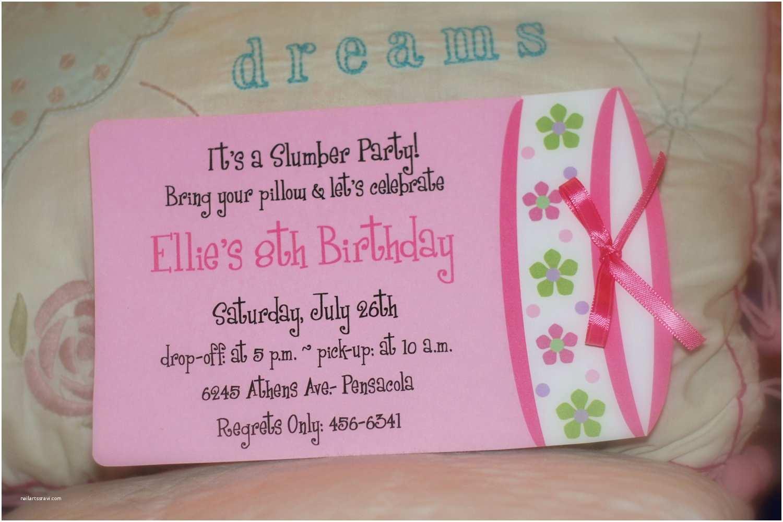 Homemade Birthday Invitations Party Invitation Ideas