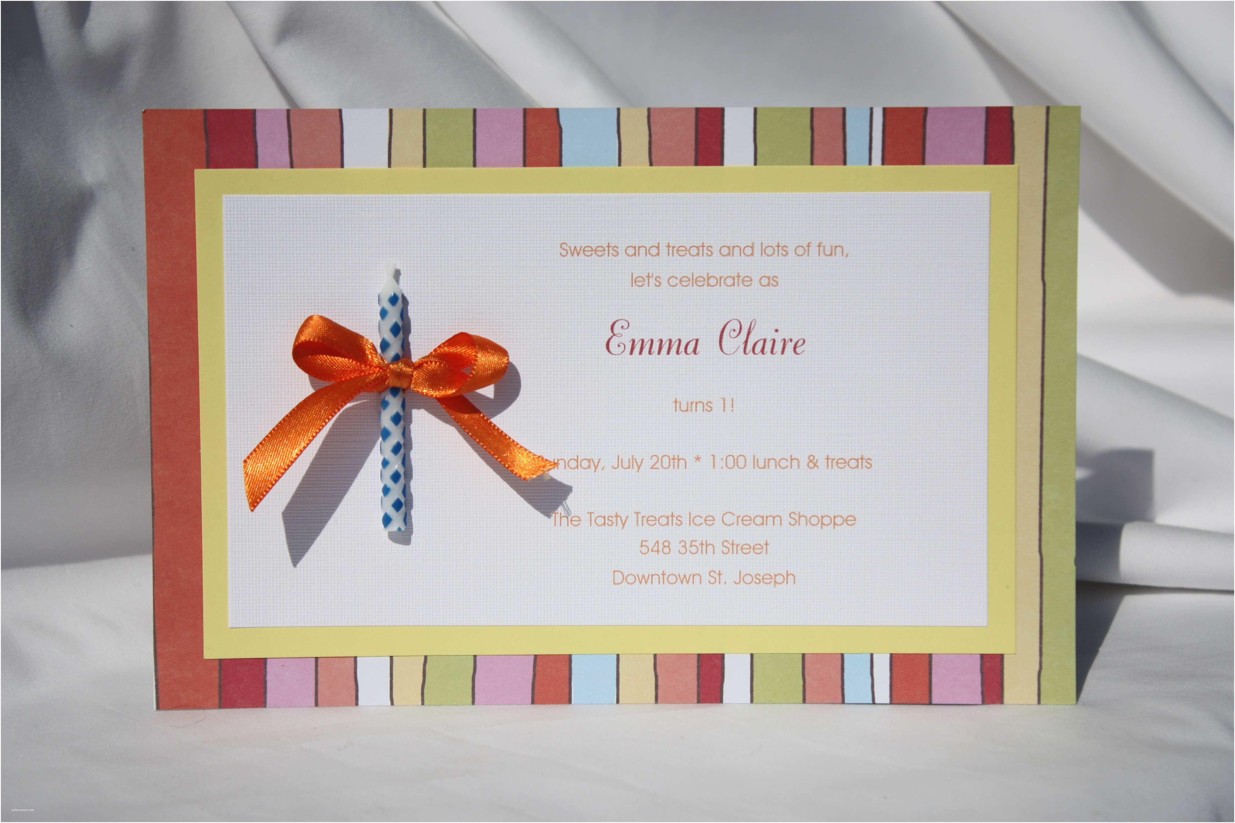 Homemade Birthday Invitations Guest Post How to Make Your Own Party Invitations 1st