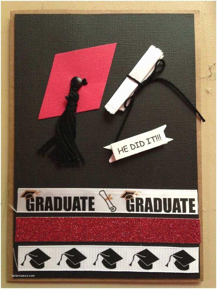 Homemade Graduation Invitations Homemade Graduation Announcement Front