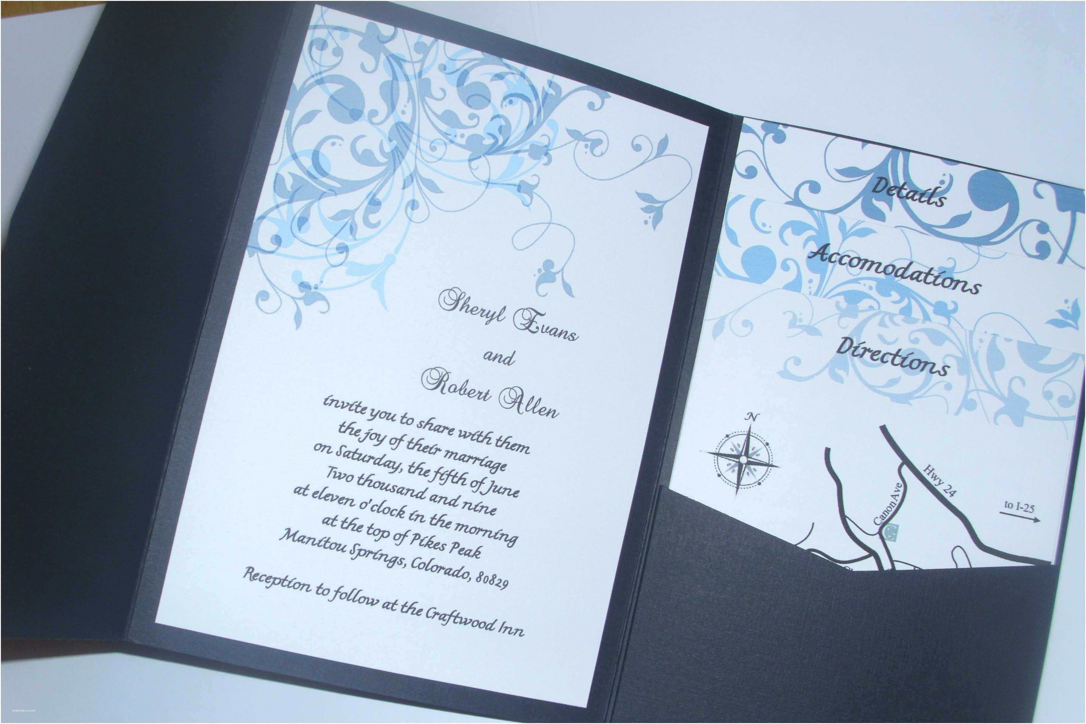 Homemade Wedding Invitations Homemade Wedding Invitation