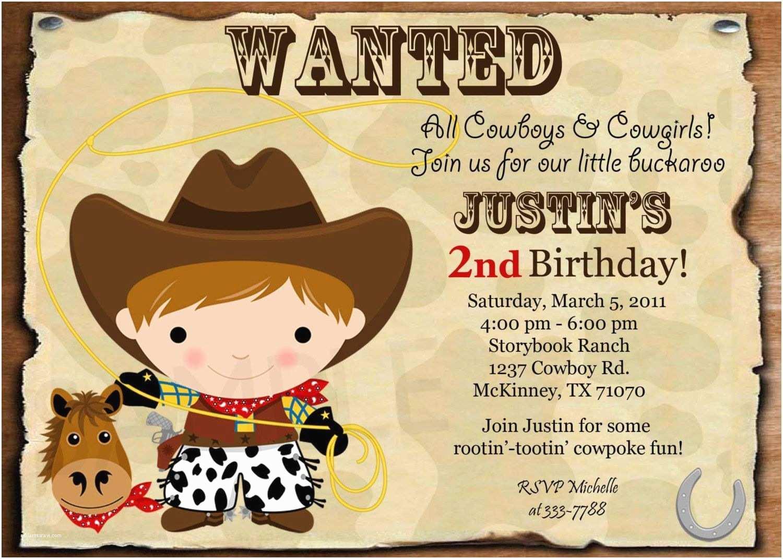 Horse Birthday Invitations Printable Horse Birthday Invitations