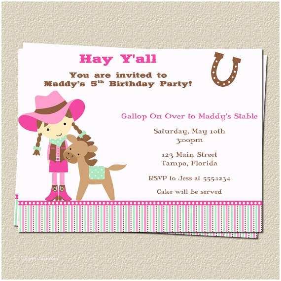 Horse Birthday Party  Free Printable Horse Birthday Party