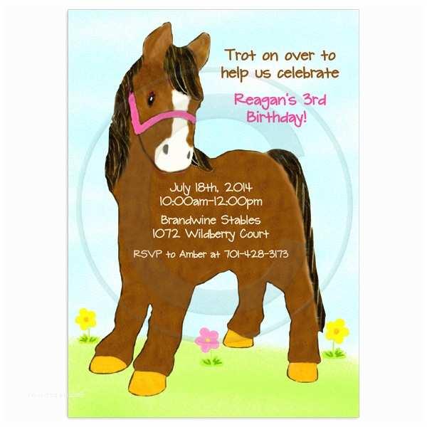 Horse Birthday Party  Pony Birthday Party