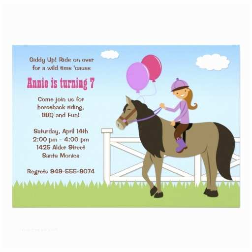 Horse Party Invitations Horse Party Invitations – Gangcraft