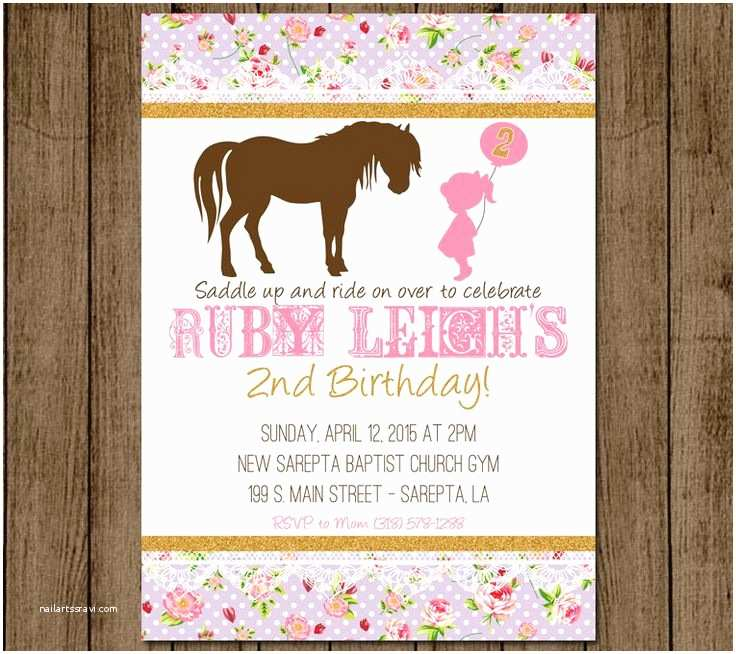 Horse Party Invitations Pinterest • the World's Catalog Of Ideas