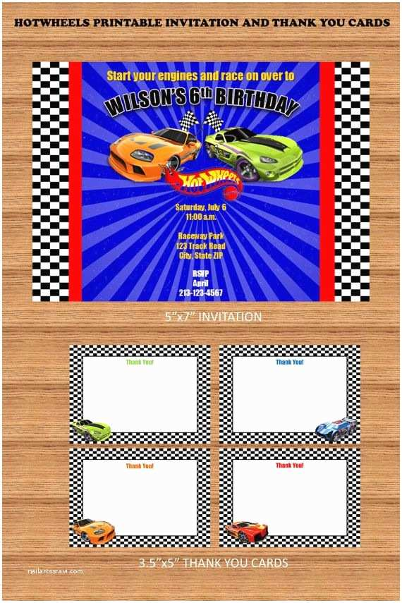 Hot Wheels Party Invitations Hey I Found This Really Awesome Etsy Listing at S