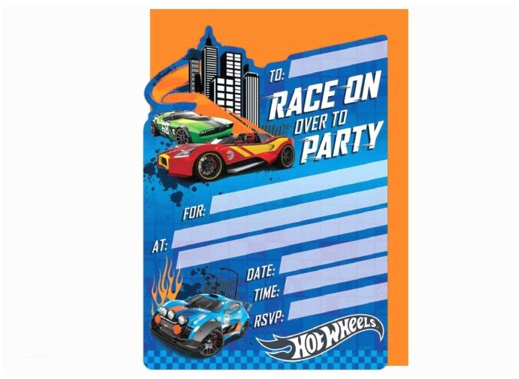 Hot Wheels Party Invitations Hot Wheels Party Supplies
