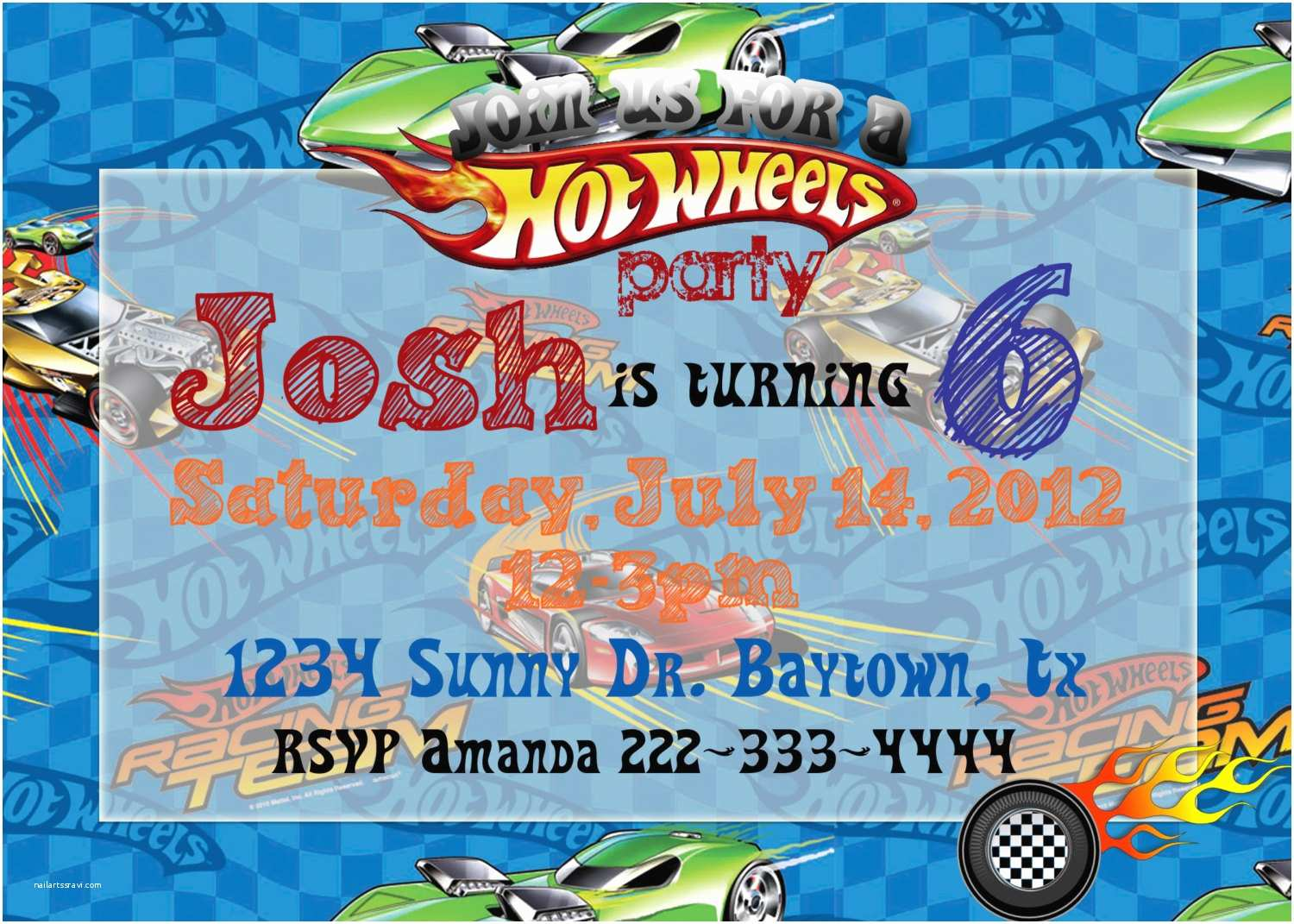 Hot Wheels Party Invitations Unavailable Listing On Etsy