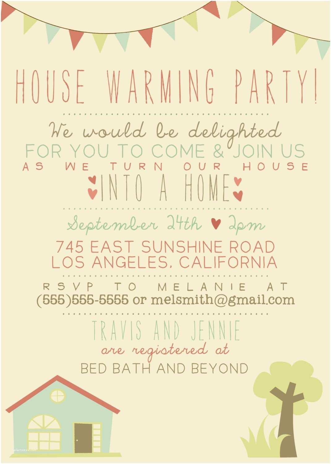 House Warming Party Invitations House Warming Party Invitation Printable Custom Diy