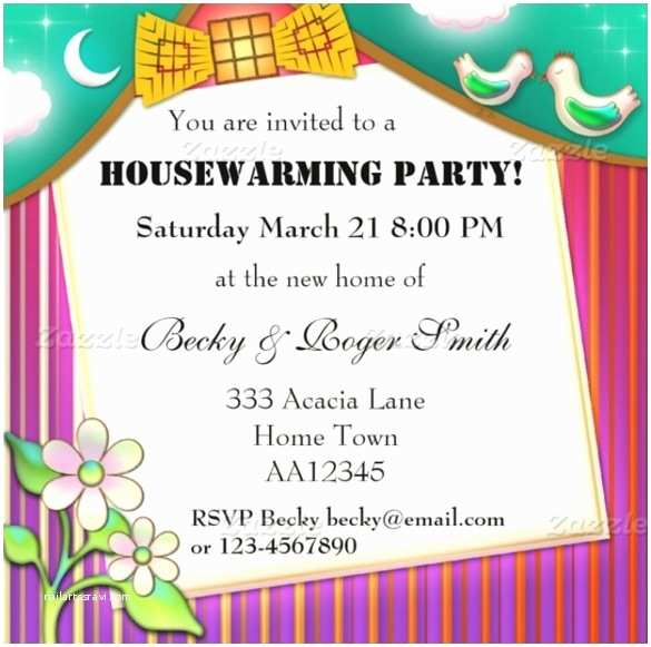 House Warming Party Invitations Housewarming Invitations Wording Template