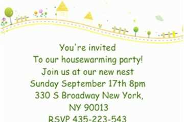 Housewarming Invitation Template 21