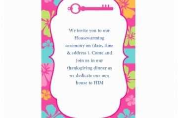 Housewarming Housewarming Invitation Template 40 Free Printable