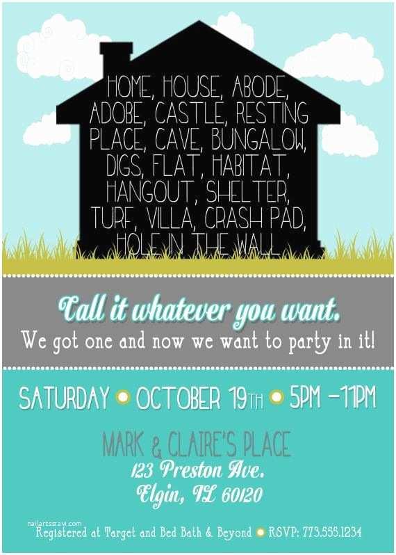 /housewarming/housewarming Invitations Fun Housewarming Invitation