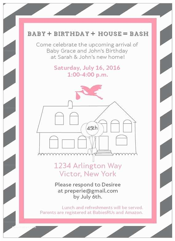 /housewarming/housewarming Invitations Planning A Joint Housewarming and Baby Shower or Joint
