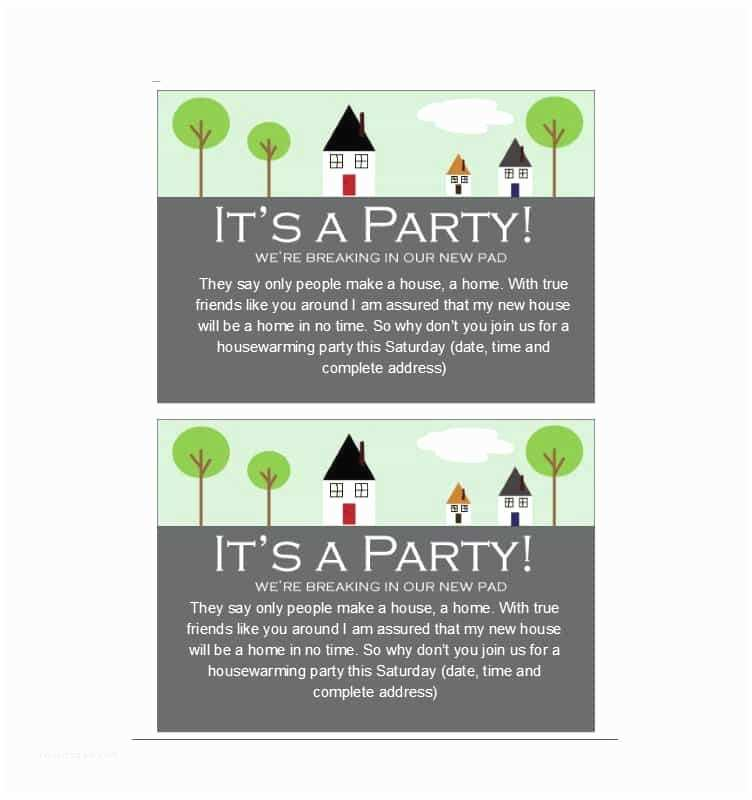 Housewarming Party Invitation 40 Free Printable Housewarming Party Invitation