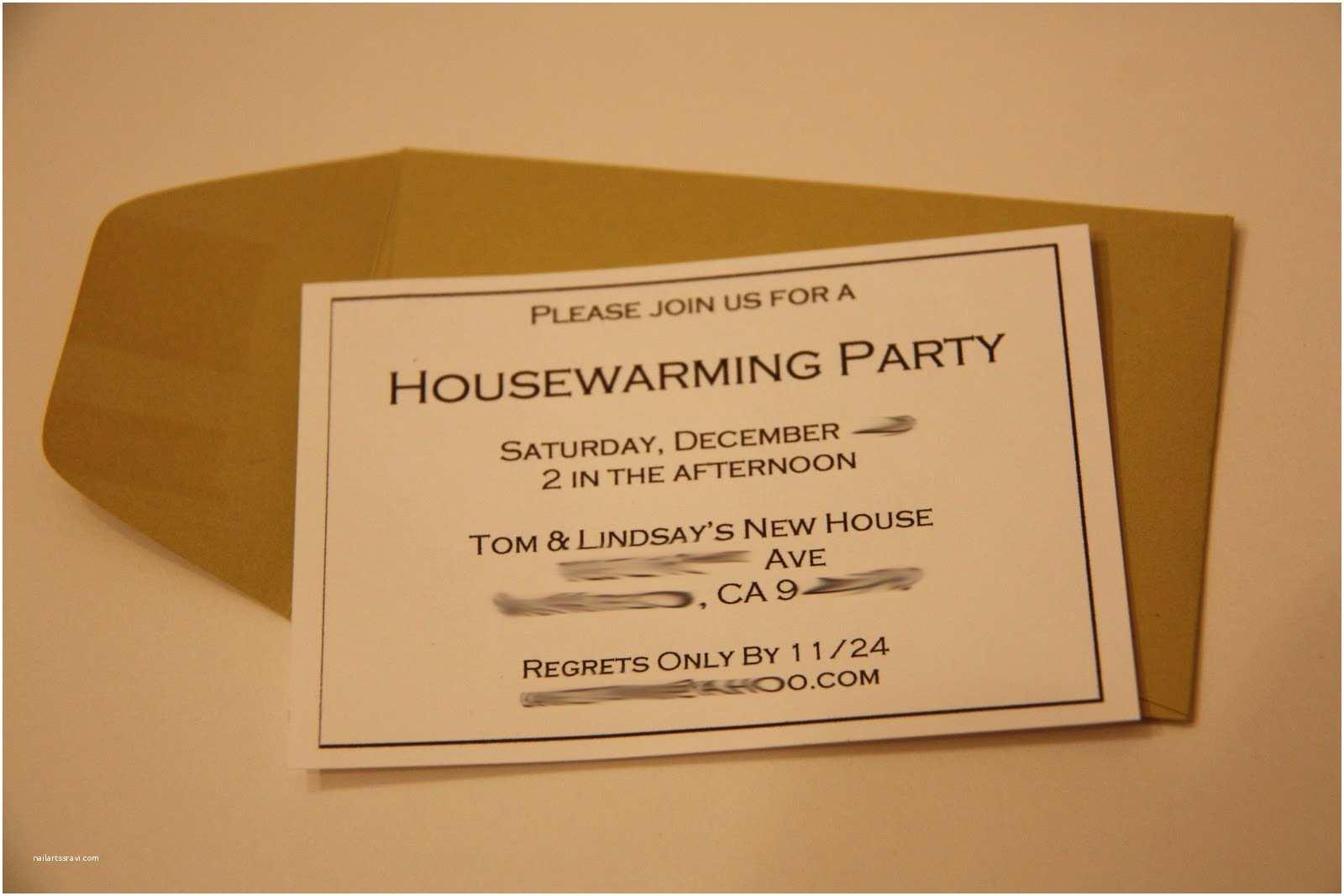 Housewarming Party Invitation Housewarming Party Invitation –