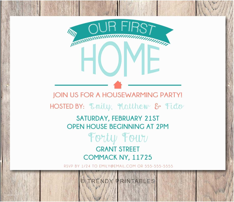 Housewarming Party Invitation Housewarming Party Invitation Housewarming by Trendyprintables