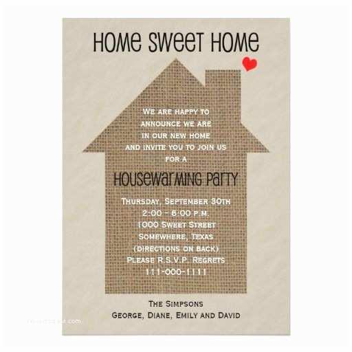Housewarming Party Invitation Ideas Housewarming Party Invitation House & Home