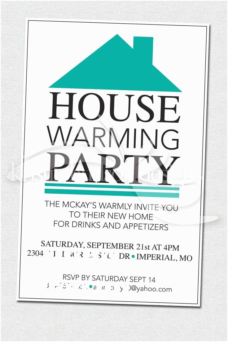 Housewarming Party Invitation Template Create Housewarming Party Invitations Designs