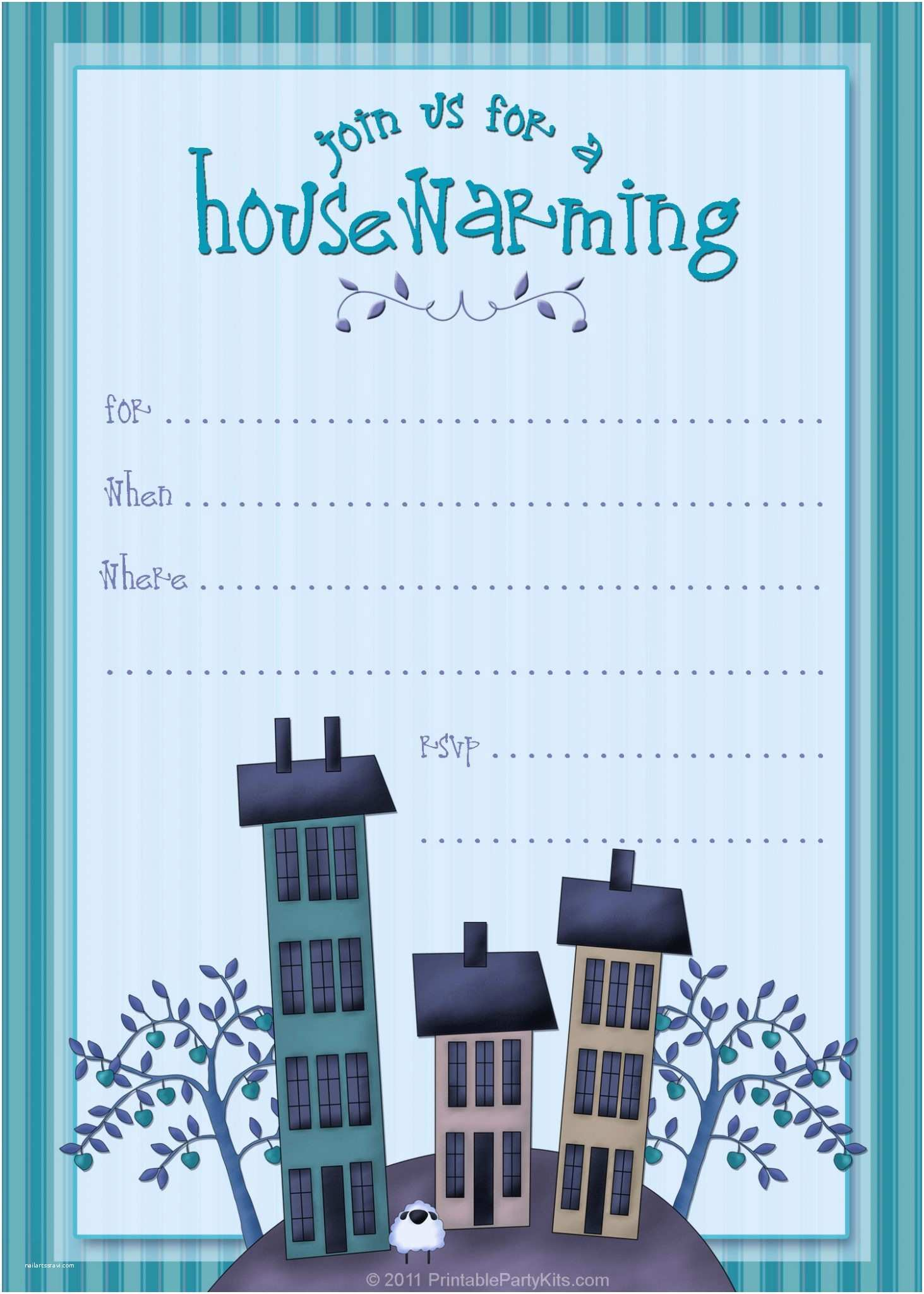 Housewarming Party Invitation Template Free Printable Housewarming Party Invitations