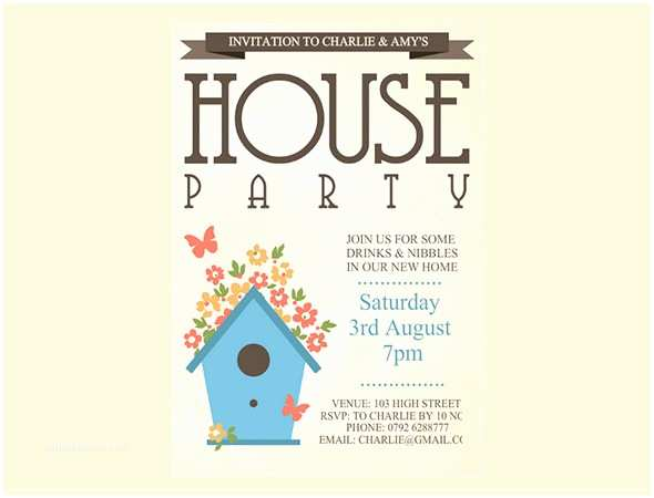 Housewarming Party Invitation Template Housewarming Invitation Template 32 Free Psd Vector