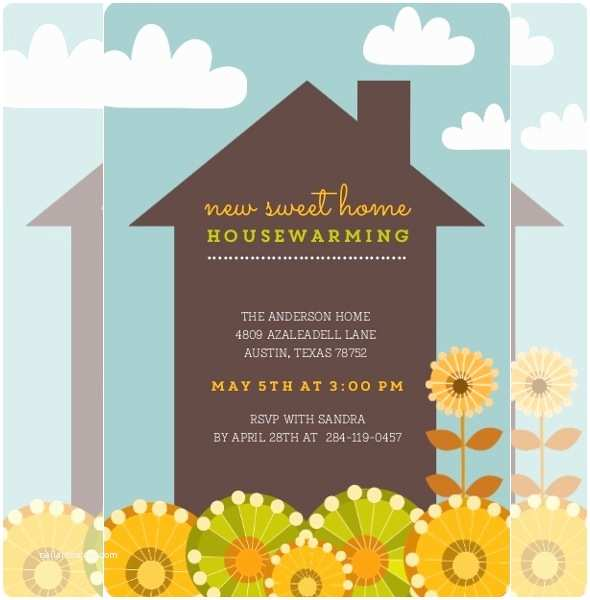 Housewarming Party Invitation Template Housewarming Invitation Template