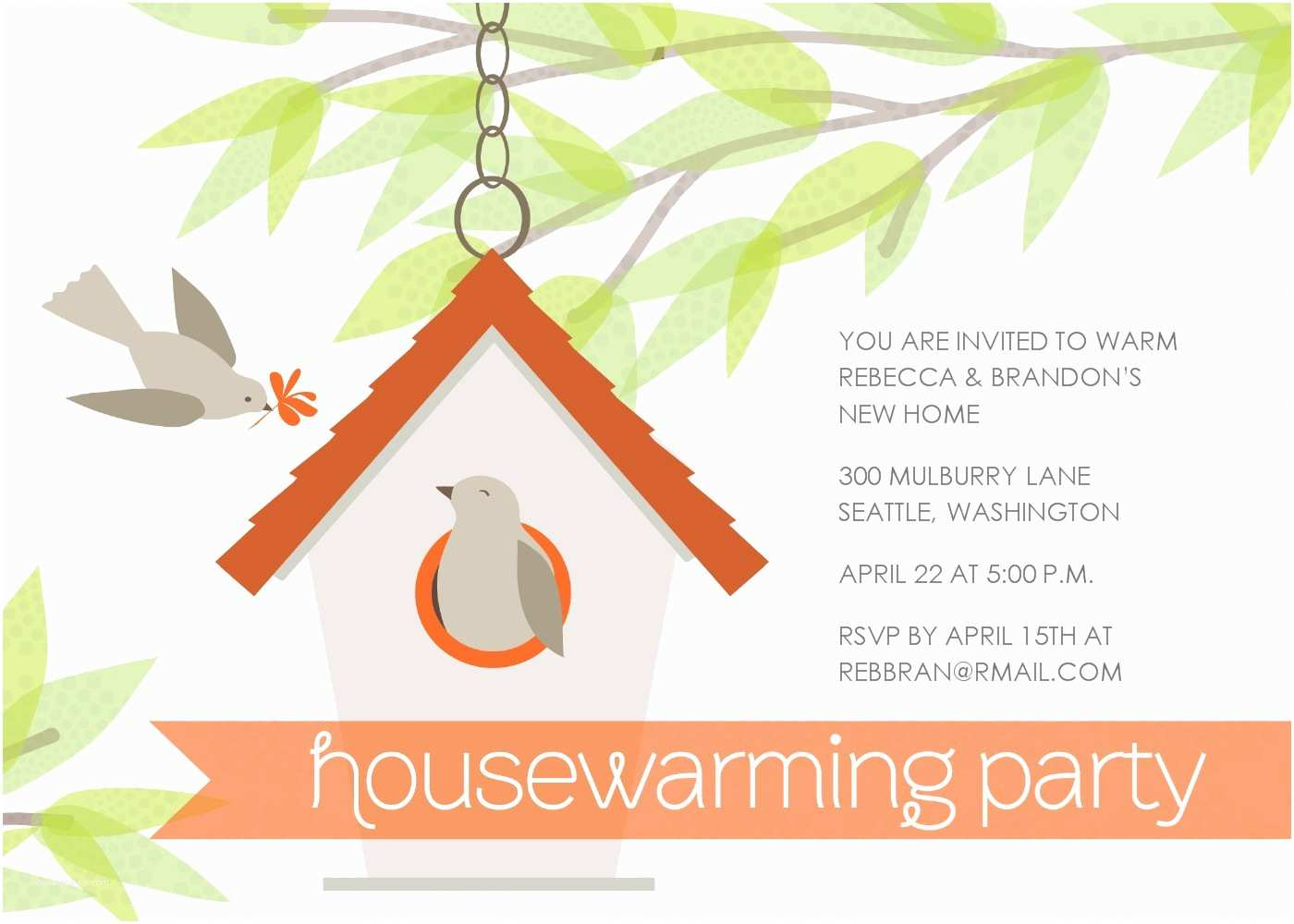 Housewarming Party Invitation Template Housewarming Party Invitation