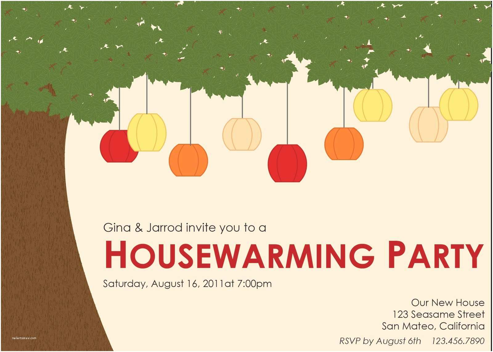 Housewarming Party Invitation Template Lowercase J Design Housewarming Party Invitation
