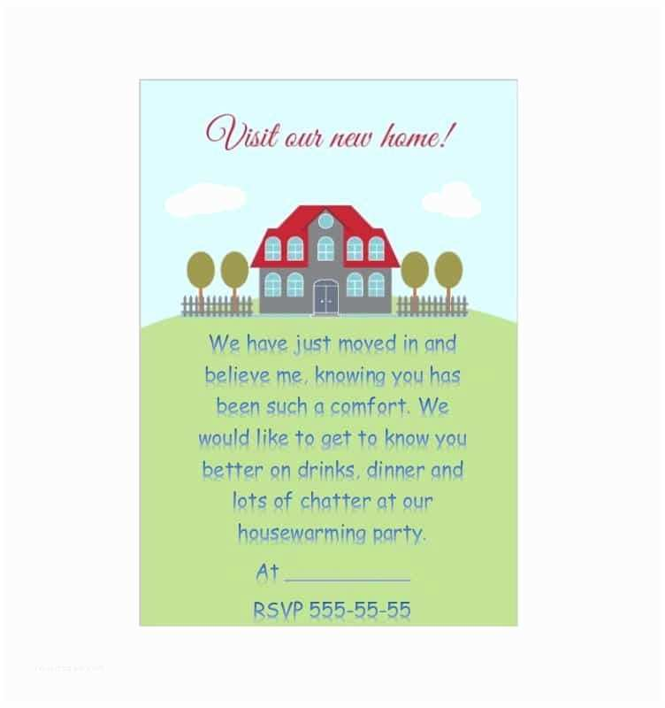 Housewarming Party Invitation Wording 40 Free Printable Housewarming Party Invitation Templates