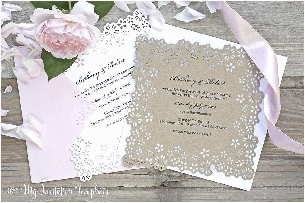 How Do I Print My Own Wedding Invitations Exelent Print My Own Wedding Invitations Picture