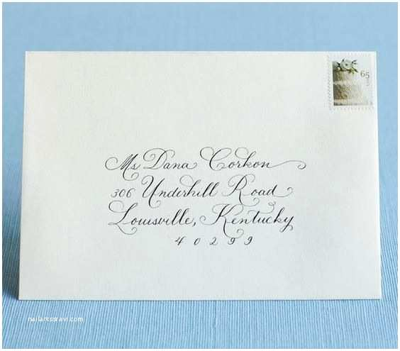 How to Address Wedding Invitations How to Address Wedding Invitations