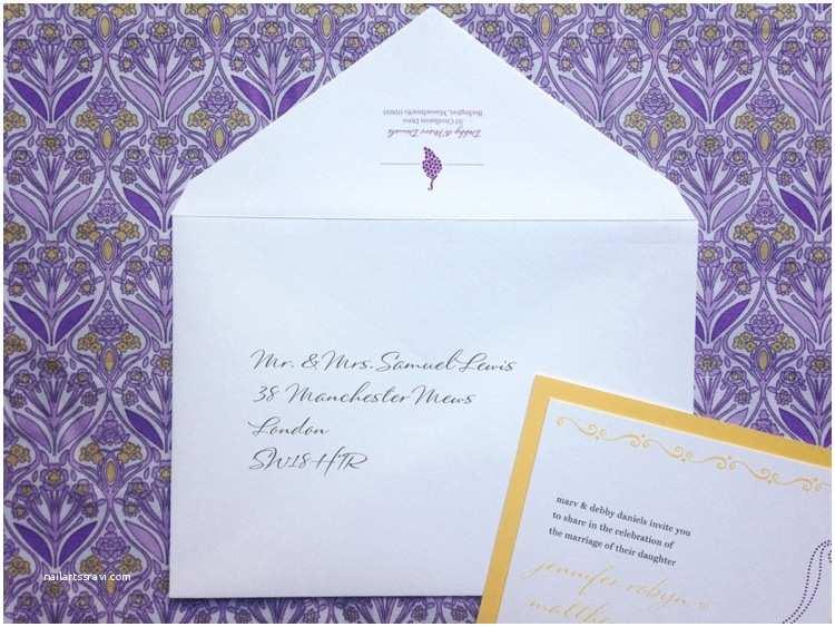 How to Address Wedding Invitations Wedding Invitation Envelope Etiquette – Gangcraft