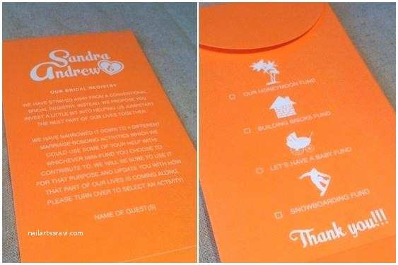 How to ask for Money On A Wedding Invite How to ask for Money A Wedding Invite 1 4