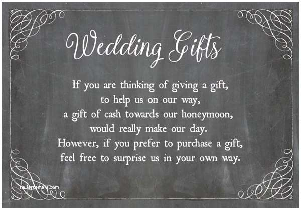 How to ask for Money On A Wedding Invite How to ask for Money for Wedding Gift