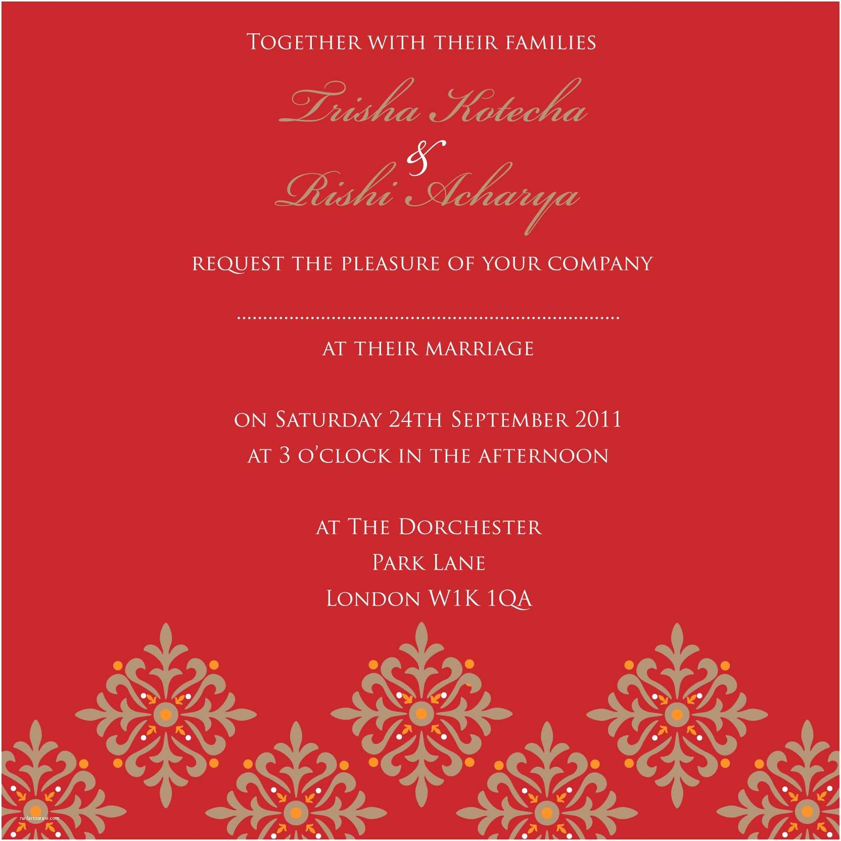 How to Create Indian Wedding Invitation Card Online for Free Indian Wedding Invitation – Gangcraft