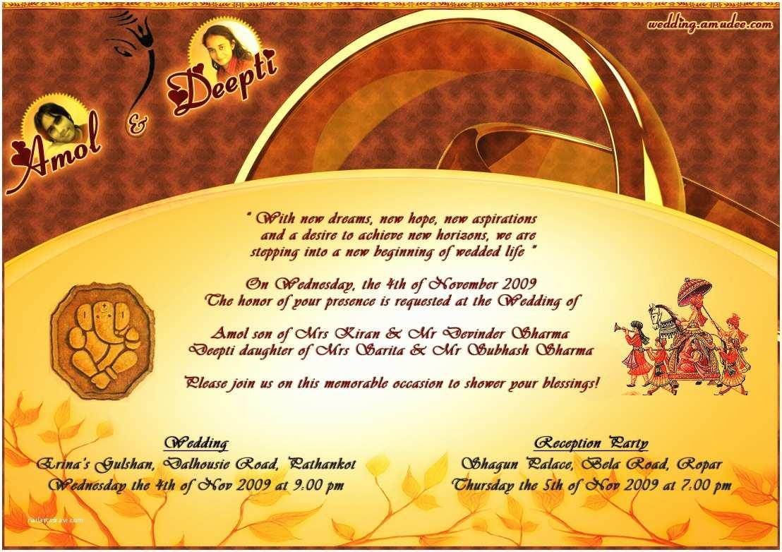 How to Create Indian Wedding Invitation Card Online for Free Indian Wedding Invitations Ideas Indian Wedding