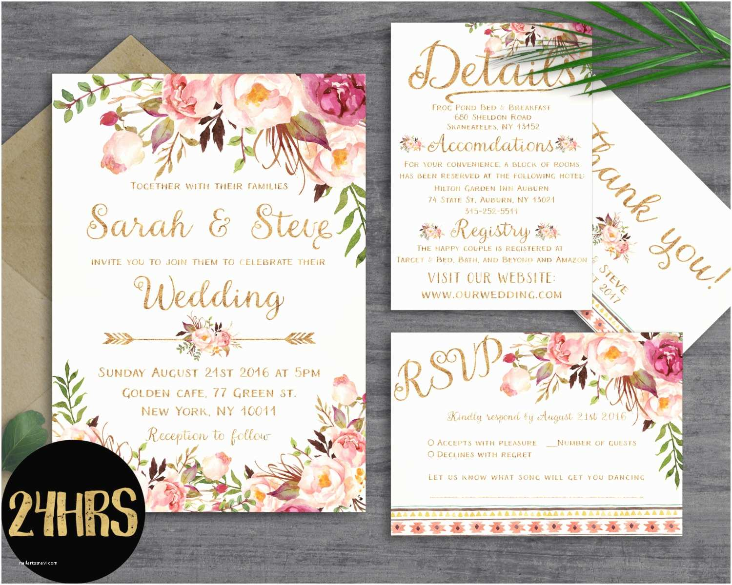 How To Design Wedding S Floral Wedding  Template Wedding