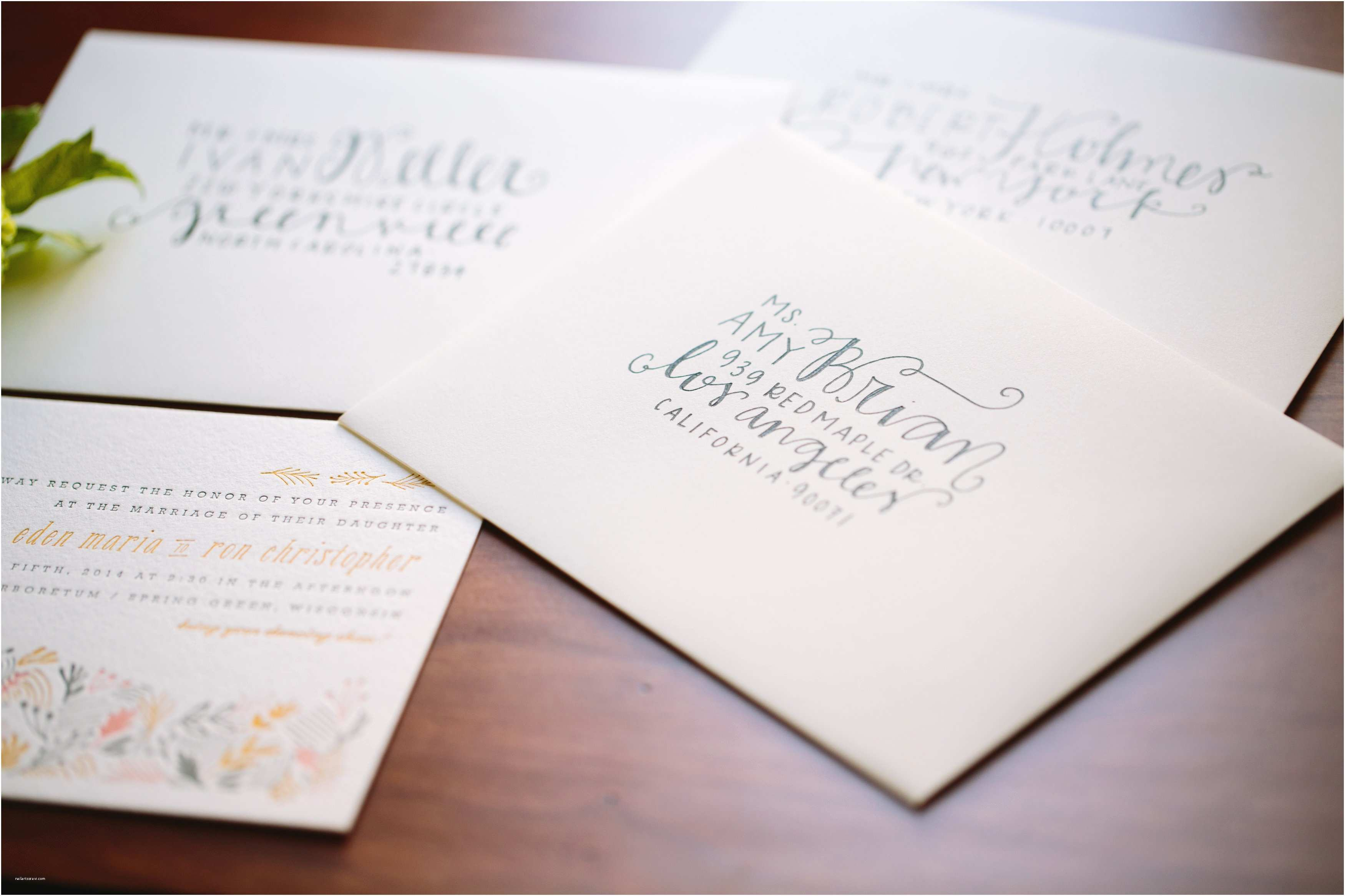 How To Design Wedding Invitations How To Wedding Invitation Address Etiquette Designs