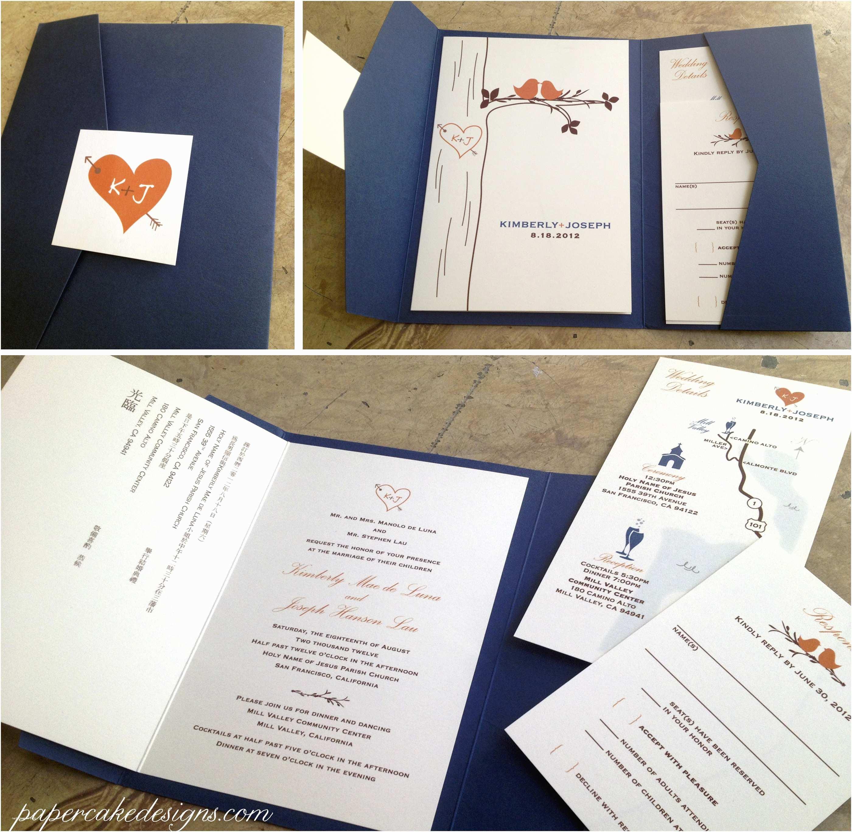 How to Diy Wedding Invitations [diy Print & assemble] Wedding Invitations – Papercake Designs