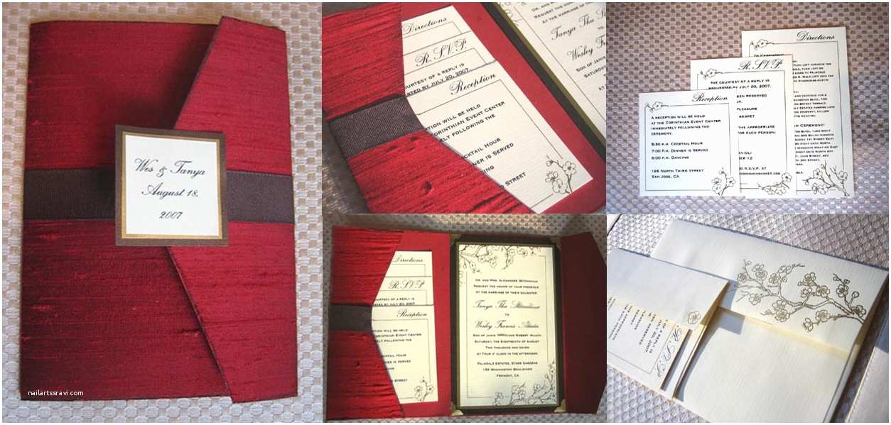 How to Diy Wedding Invitations How to Make Your Own Pocket Fold Envelope