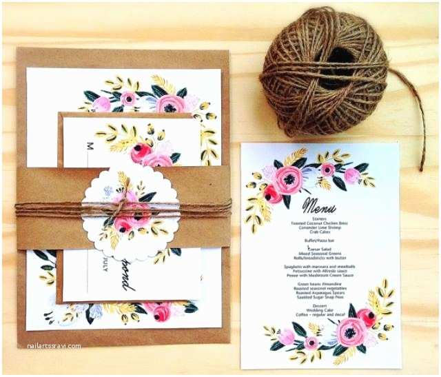 How to Diy Wedding Invitations Printable Wedding Invitation Set Instant Download