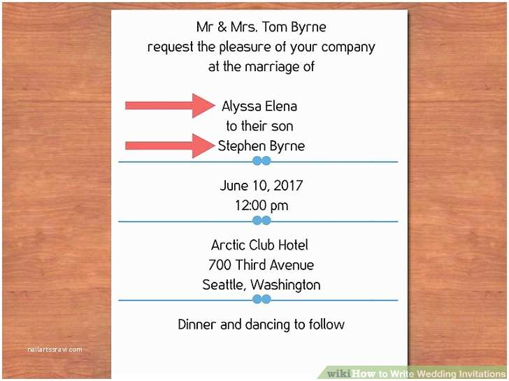 How to Fill Out A Wedding Invitation 3 Easy Ways to Write Wedding Invitations with