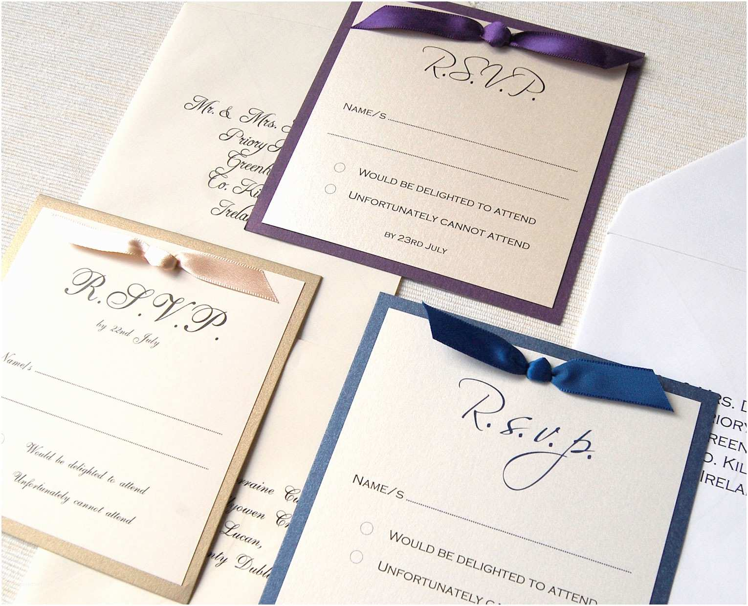 How to Fill Out A Wedding Invitation How to Fill Out Wedding Invitations