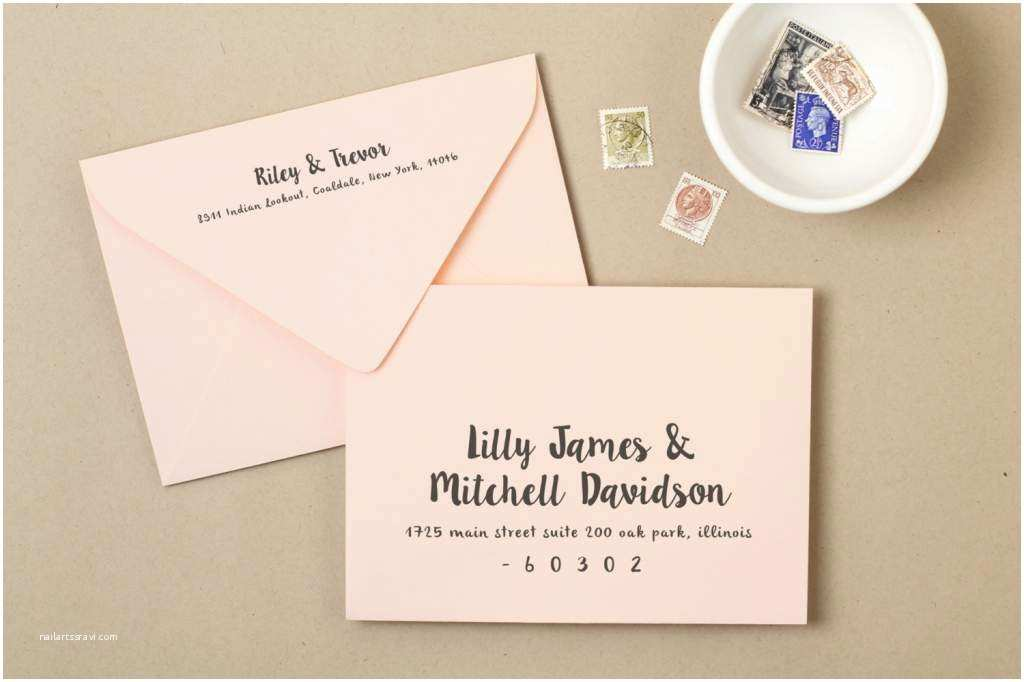 How to Invite for Wedding How to Address Wedding Invitation