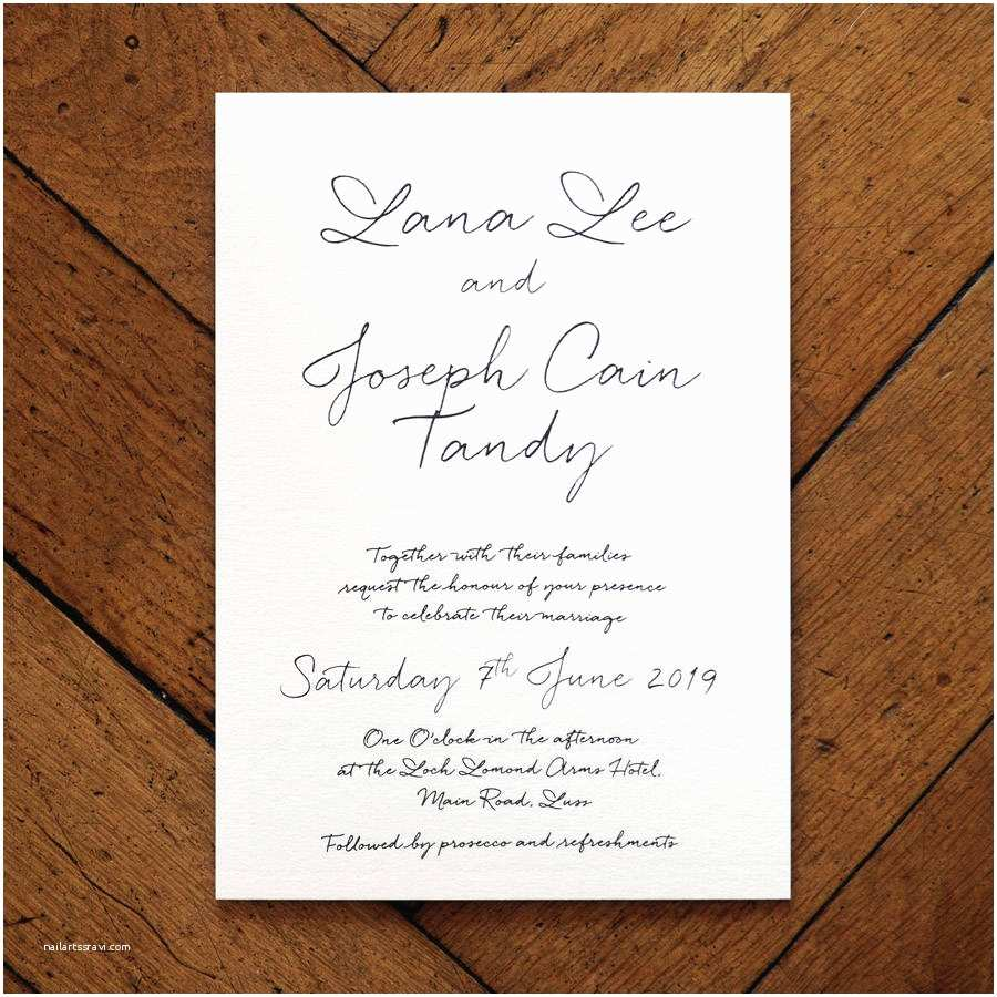 How to Invite for Wedding Love Letter Wedding Invitation Set and Save the Date by
