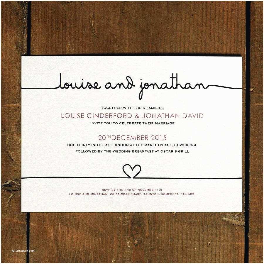 How to Invite for Wedding original Scribble Wedding Invitation Suite