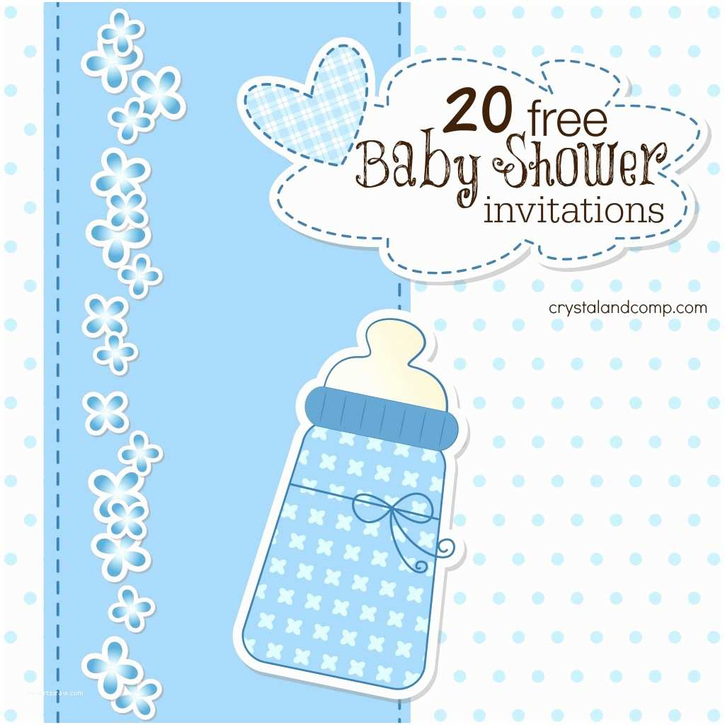 How to Make Your Own Baby Shower Invitations Blank Baby Shower Invitations Templates