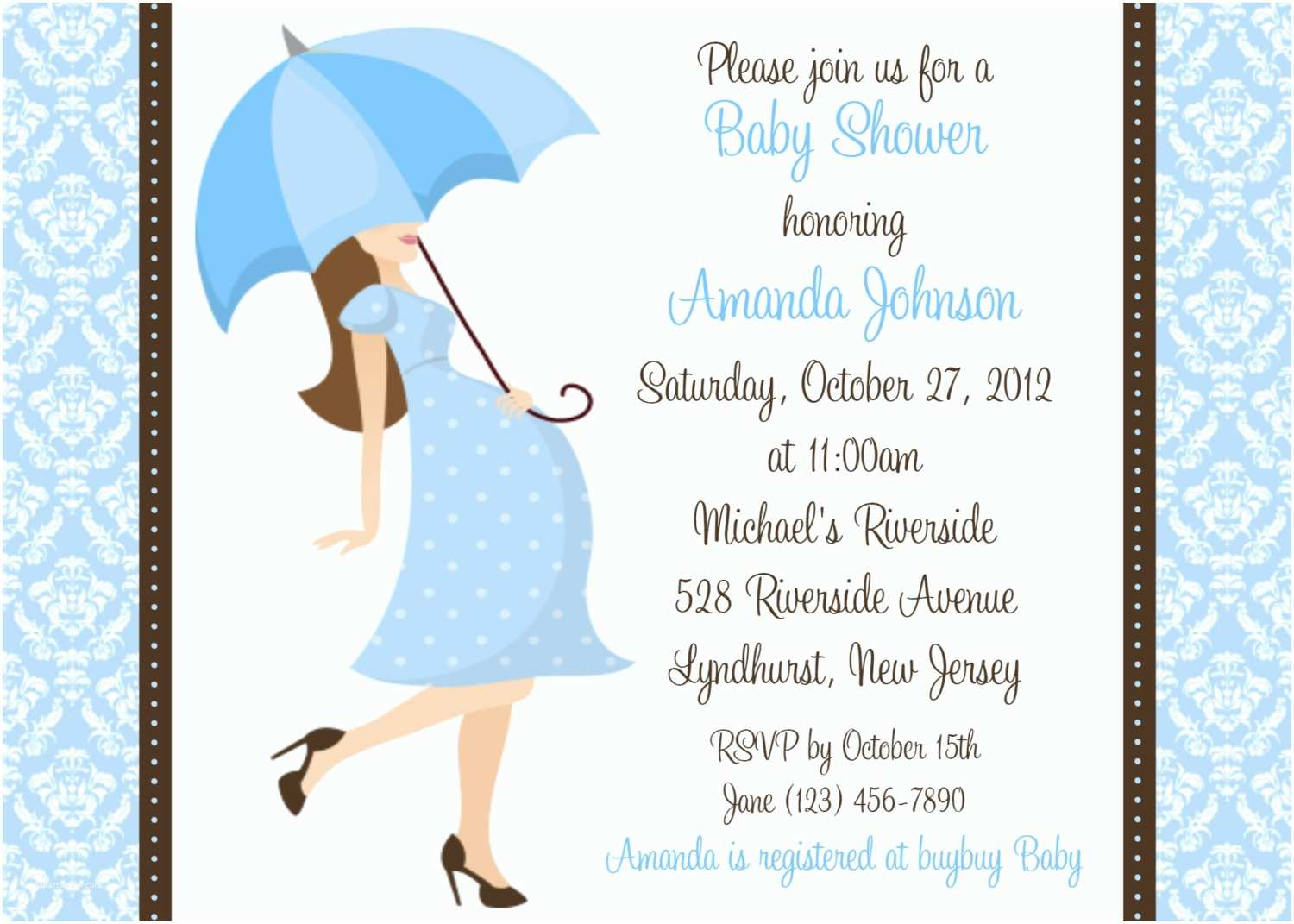 How to Make Your Own Baby Shower Invitations Boy Baby Shower Invites