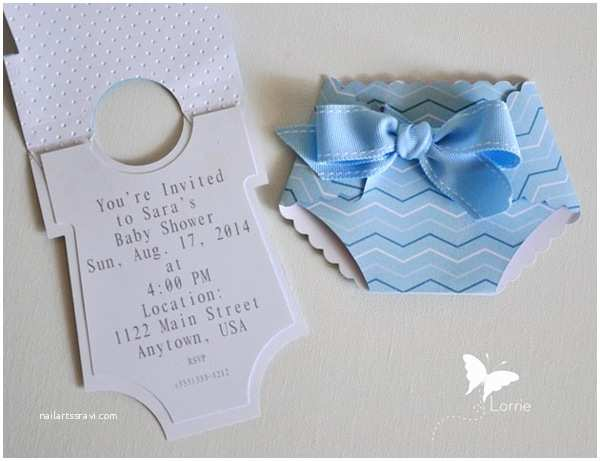 How to Make Your Own Baby Shower Invitations Making Your Own Baby Shower Invitations